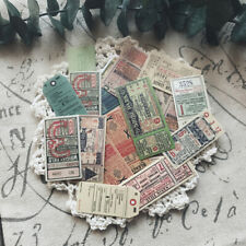 22Pcs/pack Vintage ticket stickers scrapbook DIY diary albums notebook decor G2