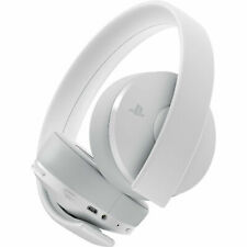 Sony - 3003339 - Gold Wireless Stereo Headset for PlayStation 4 - White