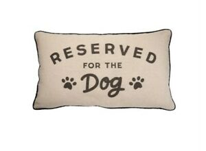 Sass and Belle Reserved For The Dog Cushion