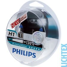 H1 PHILIPS X-tremeVision-take performance +130% in più di luce-Duo-Pack-Box NUOVO