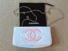 RARE NEW AUTHENTIC CHANEL VIP PATENT LEATHER SHOULDER/CROSSBODY BAG CHAIN STRAP