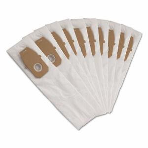 Hoover Commercial Disposable Vacuum Bags, Allergen Q, 10/Pack