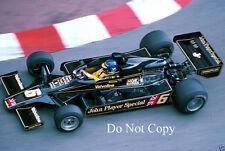 Ronnie Peterson JPS Lotus 78 Monaco Grand Prix 1978 Photograph 2