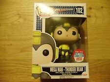 FUNKO POP MEGA MAN THUNDER BEAM NYCC 2016 EXCLUSIVE