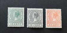 Nederland 1924 tentoonstellingszegels NVPH 136-138 MNH postfris // VANAF 1 EURO!