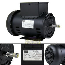 5 Hp Air Compressor Duty Electric Motor 56h Frame 3440 Rpm Single Phase Weg New
