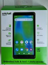 """New Cricket Prepaid Vision 2 - Black - 5.5"""" 16GB - Smartphone Cell Phone Mobile"""