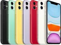 Apple iPhone 11 64GB Unlocked Verizon AT&T T-Mobile GSM CDMA Smartphone