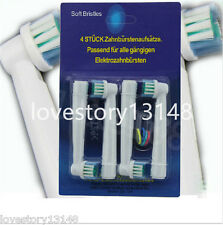 20 Pcs Electric Replacement Toothbrush Heads Soft-bristled SB-17A for Oral B