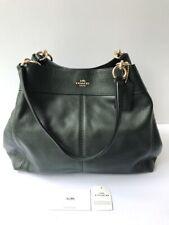 Coach * Lexy Shoulder Bag F28997 IM071 Pebble Leather Midnight Grey