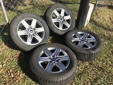 "4 NEW 2018 Ford F150 FX4 20"" Factory OEM Silver Wheels Rims Tires 2004-2017"