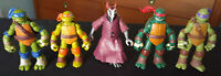TMNT Figures Lot of 5 Teenage Mutant Ninja Turtles