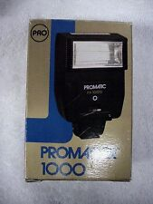 Promaster 1000 Flash | Single shoe contact | NEW | Box |