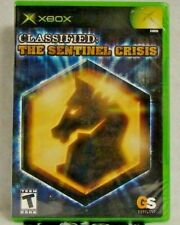 Classified: The Sentinel Crisis (Microsoft Xbox, 2006) New Sealed !