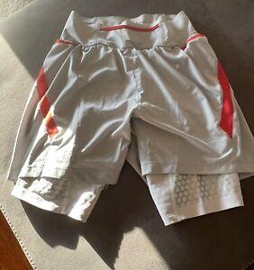 Salomon Men's S-Lab Exo Twinskin Running Shorts Compression Top !!!