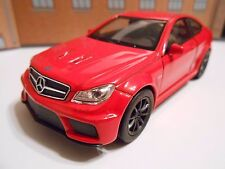 MERCEDES C63 AMG COUPE Metal Model Toy Car boy girl dad Birthday gift NEW BOXED!