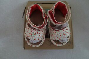 Toms Shiloh Sandals Baby Toddler Birdh Local Floral Print Size 3  New