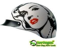 Tortugaz Art Motorcycle Scooter Bike Skateboard Half Helmet Cover Marilyn Monroe