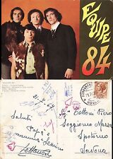 CARTOLINA 1967 EQUIPE 84 MUSICA ANNI 60 VANDELLI SOGLIANI CANTARELLA CECCARELLI