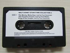 WALT DISNEY STORYTIME COLLECTION 3 CASSETTE TAPE, 1984 WALT DISNEY, TESTED.