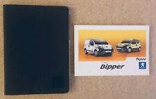 PEUGEOT BIPPER & TEPEE OWNERS HANDBOOK MANUAL BOOKPACK FROM  2008 TO  2017