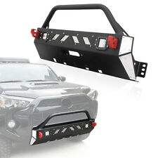 Front Winch Bumper Guard Cover LED Light for 2016-2019 Toyota 4Runner Trd Pro