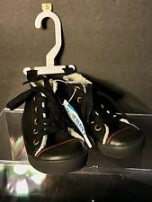 Old Navy High-Top Shoes Boy Toddler Faux Suede/Faux Fur Sneaker Sz: 5(6-12M) NWT