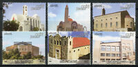 Jordan 2018 MNH Churches 6v Set Religion Religious Architecture Stamps