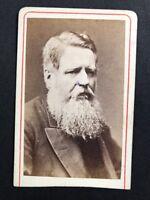 Rare Victorian Carte De Visite CDV: Sir Northcote : Earl Of Iddesleigh