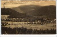 Tabarz Thüringer Wald Grußkarte ~1910 AK gelaufen Lauchagrund und Inselsberg