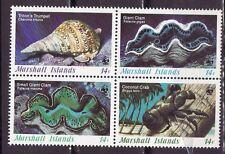 Marshall Islands 1986 - MNH - Schelpen / Shells / Muschelschale  WWF/WNF