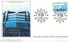 1986**ENVELOPPE ILLUSTREE**FDC 1°JOUR!!**CONSEIL DE L'EUROPE**TIMBRE Y/T 95