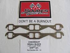 "Chevrolet Small Block Exhaust Gaskets (1.5"" Port)"