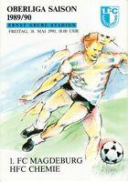 OL 89/90 1. FC Magdeburg - HFC Chemie