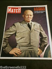 PARIS MATCH #1039 - EISENHOWER -  APRIL 5 1969