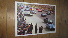 Le Mans 1959 Race Start Great New Colour POSTER