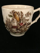 JOHNSON BROTHERS OLD MILL DEMITASSE CUP ONLY BROWN/MULTICOLORED CHELSEA SWIRLED
