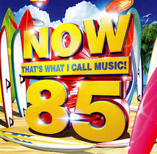 NOW 85 - THAT'S WHAT I CALL MUSIC / VARIOUS ARTISTS - 2 CD SET