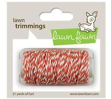 Lawn Fawn Lawn Trimmings ~ Hemp Cord ~ CORAL Pinkish, Girls - 21yards ~LF594
