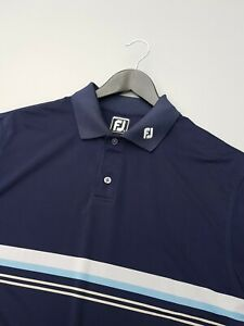 FOOTJOY ATHLETIC FIT GOLF POLO SHIRT LARGE EXCELLENT CONDITION!