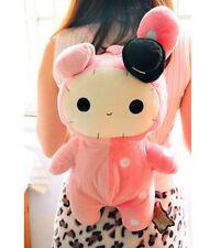 FD4852 Sentimental Circus San-X Plush Rabbit Doll Pink Backpack School Bag ♫