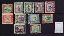 ! North Borneo 1938.  Lot Of 11  Stamp. YT#. €99.00 !
