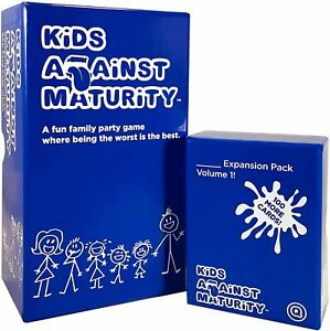 Kids Against Maturity Card Game for Kids Fun syd stocks, fast delivery SALE