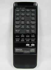 Denon RC-215 Original CD Player Remote Control For DCD-910, 30 Day Guarantee