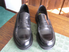 Men's Black Leather Shoes Dress, Casual Business FRANCO SARTO  Portugal Sz1