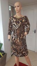 Joseph ribkoff animal print dress size 14