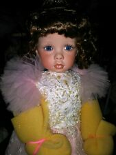 Janis Berard Casey DOLL All Kais Porcelain with Tiara still in wrapping