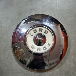 "55-56 Ford Mainline Sunliner Customline 10 1/2"" Hub Cap B6A-1130-A"