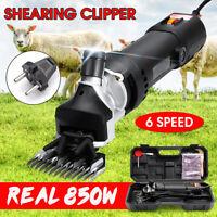 850W Farm Supplies Electric Sheep Goat Shears Animal Shearing Grooming Clipper