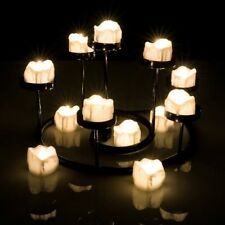 12pcs Led Tea Lights with Timer Battery Operated Flickering Flameless Candles